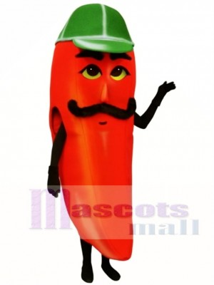 Hot Pepper Mascot Costume Vegetable
