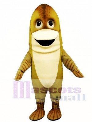 Cuddly Cod Mascot Costume Animal