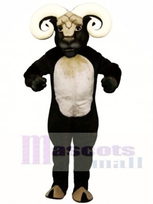 Cute Blocking Ram Mascot Costume Animal