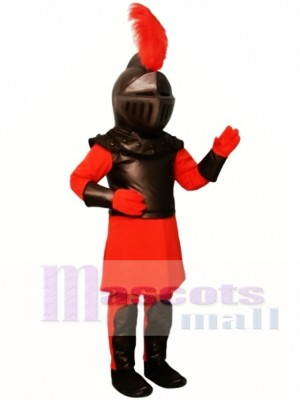 Red Knight Mascot Costume People