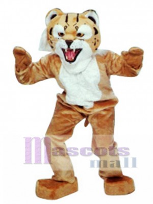 Bobcat Mascot Costume Animal