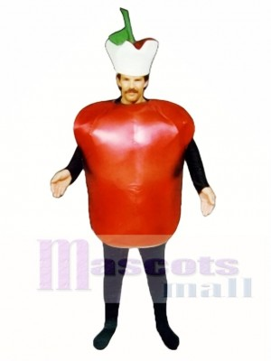 Apple Mascot Costume Plant