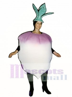 Turnip Mascot Costume Vegetable
