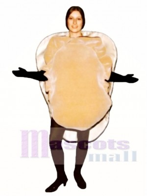 Oyster on Half Shell Mascot Costume