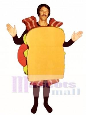 BLT Sandwich Mascot Costume