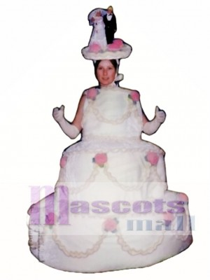 Three Layer Cake Mascot Costume