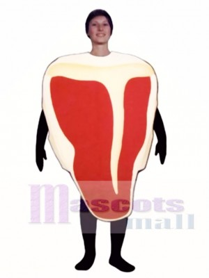 T-Bone Steak Mascot Costume