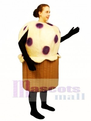 Blueberry Muffin Mascot Costume