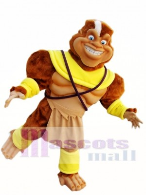 Hairy Ape Mascot Costume Funny Ape Mascot Costumes Animal
