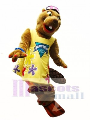 Beaver Mascot Costume Beaver Valley Ski Club Mascot Costume Animal