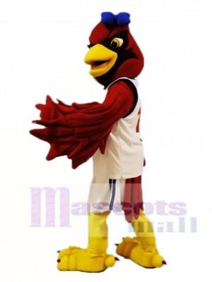 Female Red Cardinal Mascot Costumes Bird