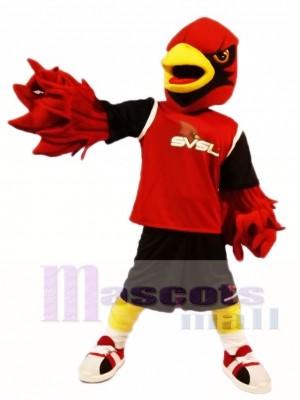 Red Cardinal Mascot Costumes Bird
