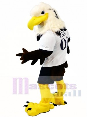 White Head Eagle Falcon Mascot Costumes Animal
