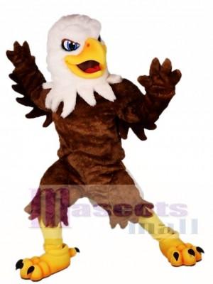 White Head Brown Eagle Mascot Costumes Falcon Animal