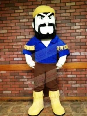 Black Beard Voyageur Boatman Woodman Mascot Costumes People