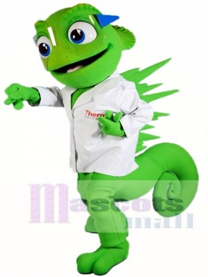 Chameleon Mascot Costumes Lizard Iguana Animal