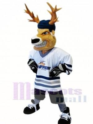 Cute Realistic Deer Mascot Costume Animal