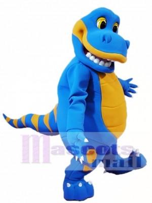 Blue Dinosaur Mascot Costumes Animal