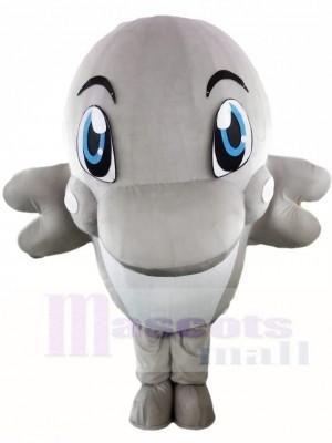 Grey Dolphin Mascot Costumes Ocean