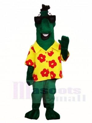 Green Dinosaur Mascot Costumes