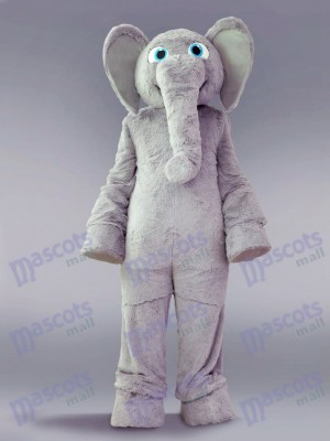 Grey Elephant Mascot Costume Animal