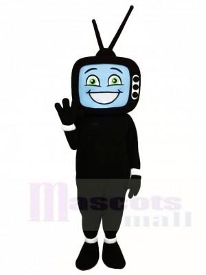 Black TV Television Mascot Costumes