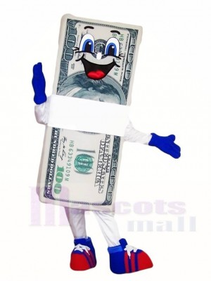 Dollar Bill Mascot Costumes
