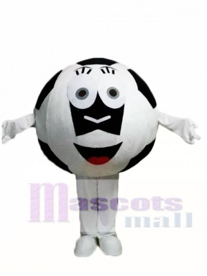 Black Ball Football Mascot Costumes