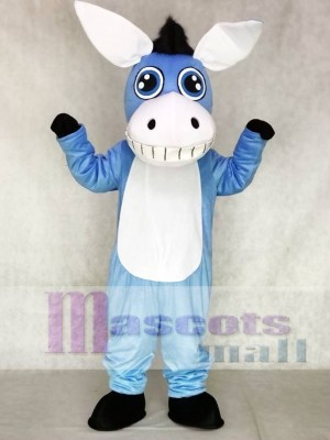 Blue Donkey Mascot Costumes Animal