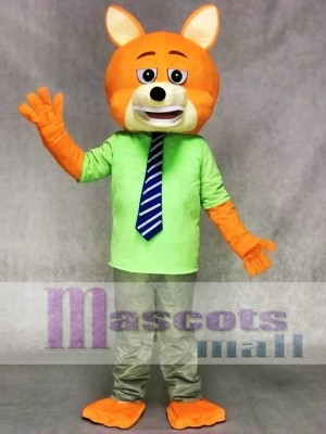 Zootopia Zoo Nick Wilde Fox Mascot Costume Fancy Cartoon Suit