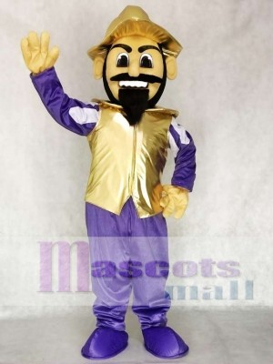 Conquistador Mascot Costume People
