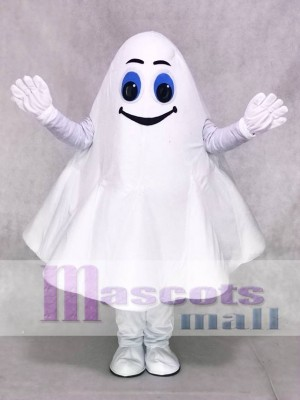 White Ghost Halloween Party Mascot Costumes