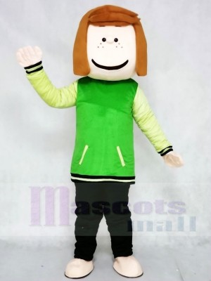 Peppermint Patty from Snoopy Dog Mascot Costumes Cartoon