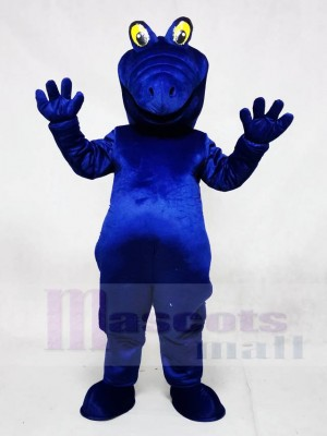Royal Blue Albert Alligator Mascot Costumes Animal