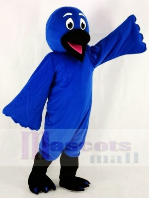Blue Bird Raven Mascot Costumes Animal