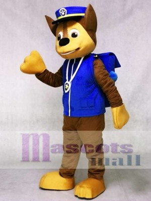 Chase Paw Patrol Mascot Costume German Shepherd Dog Mascot Puppy