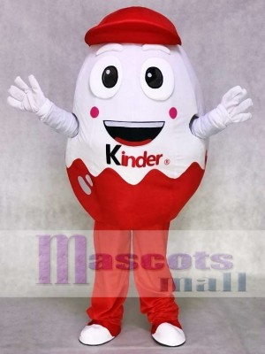 Kinder Egg Kinder Surprise Joy Easter Egg Mascot Costume Food