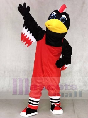 Red Chicago Blackhawks Tommy Hawk Mascot Costumes