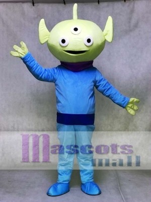 Toy Story Green Alien Mascot Costume Cartoon Anime