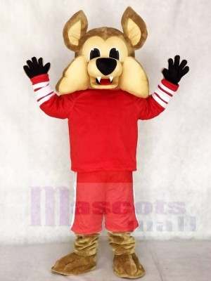 Arizona Coyotes Howler the Coyote Mascot Costume Wolf