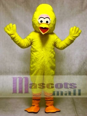 Yellow Turkey Mascot Adult Costume Bird Animal