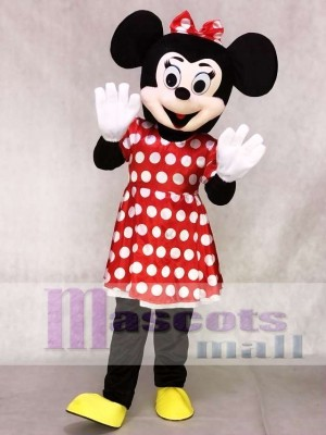 Mrs Minnie Mouse Mascot Costumes Anime