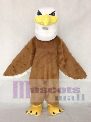 Fierce Mr. Majestic Eagle Long Hair Mascot Costume Animal