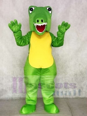 Green Crocodile Mascot Costumes Animal