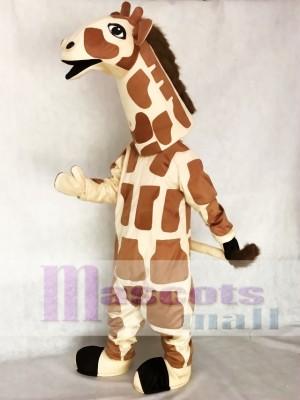 Giraffe Mascot Adult Costume Animal