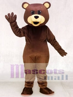 New Brown Teddy Bear Toy Mascot Costumes Animal