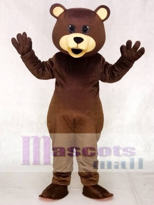 New Brown Toy Teddy Bear Mascot Costumes Animal
