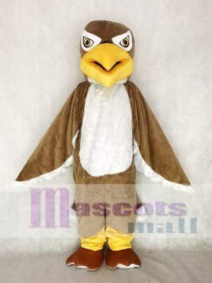Brown Hawk / Falcon Mascot Costume