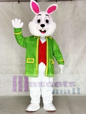 Wendell Green Rabbit Easter Bunny Mascot Costumes Animal