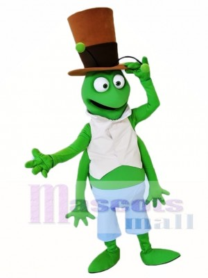 Green Grasshopper Mascot Costumes Insect